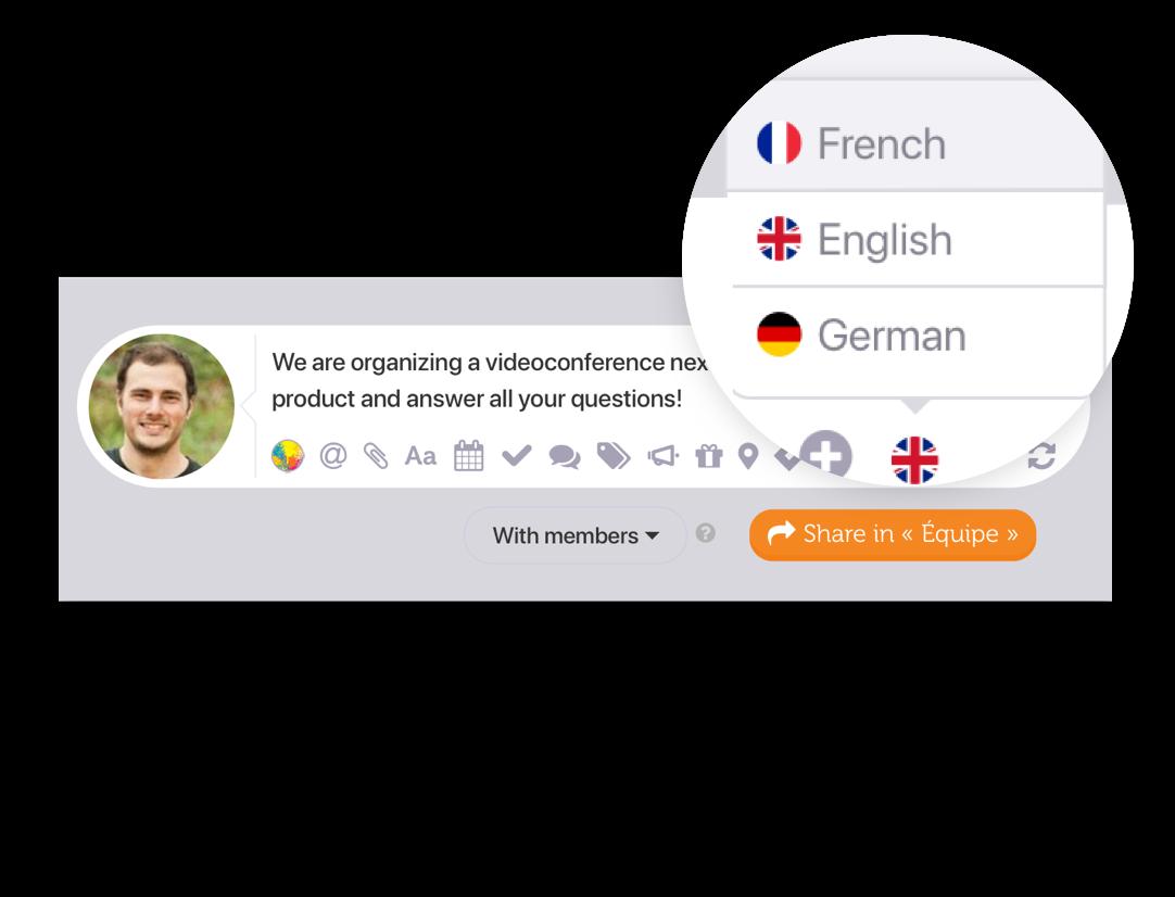 Multilingual content Image