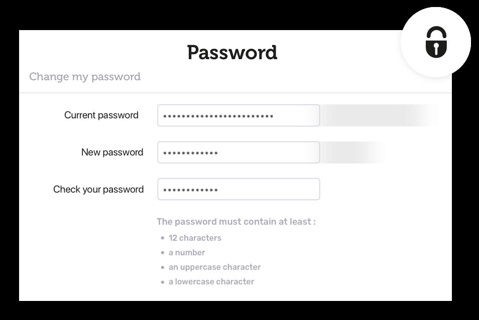 Advanced security settings Image