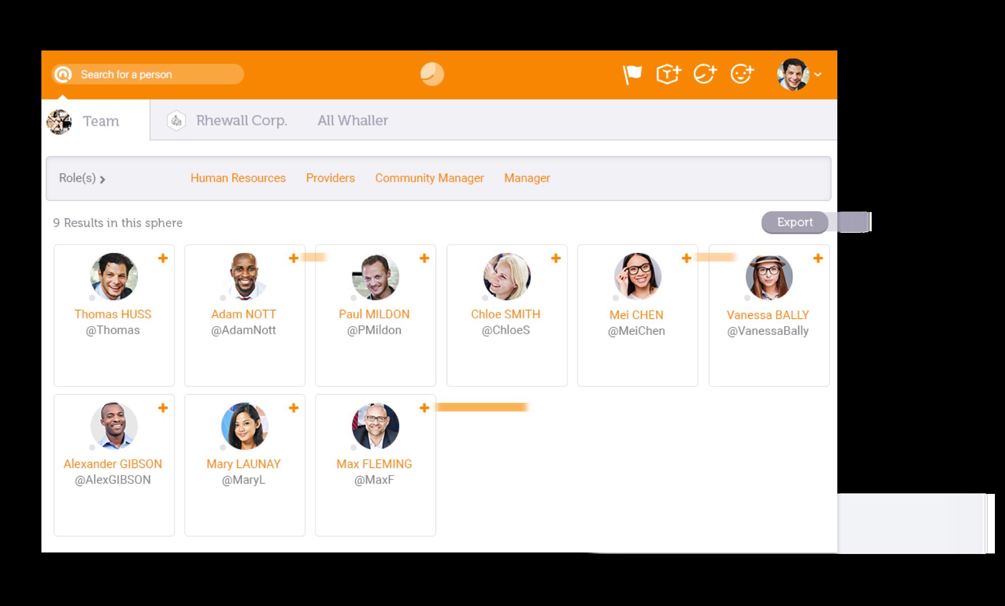 Members directory & profiles Image