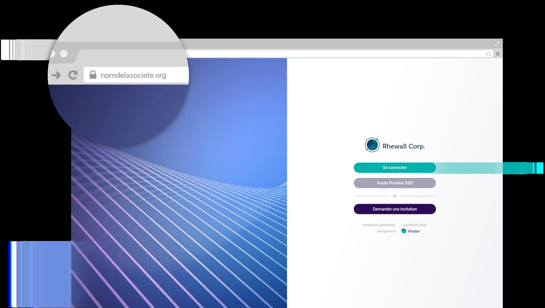 Application web en marque blanche Image